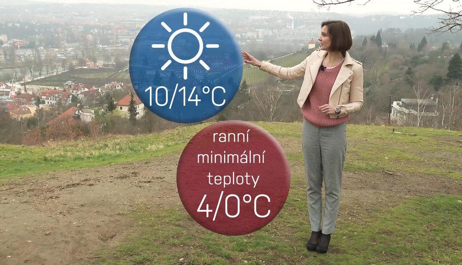 Počasí na víkend: Teplému pátku dá facku studená neděle