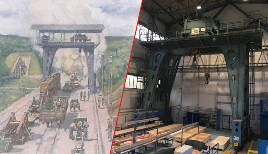 Jeřáb veterán v Plzni: Přečkal císaře, války i výbuch munice