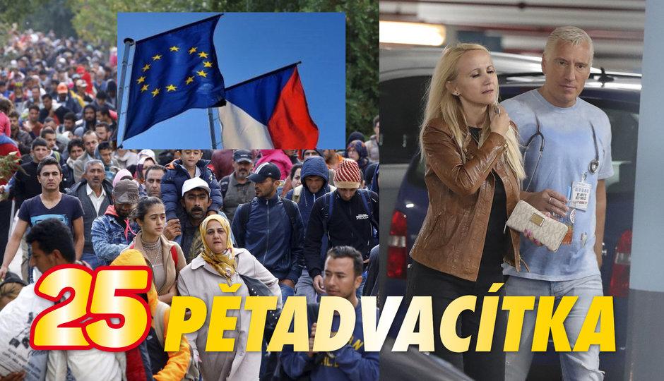 Brusel  si došlápne na Česko kvůli uprchlíkům. A nový muž po boku Šárky Grossové