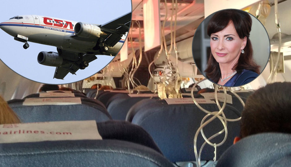 V rozbitém letadle ČSA byla i Šinkorová! O nouzovém přistání, dekompresi v kabině i šoku na letišti!