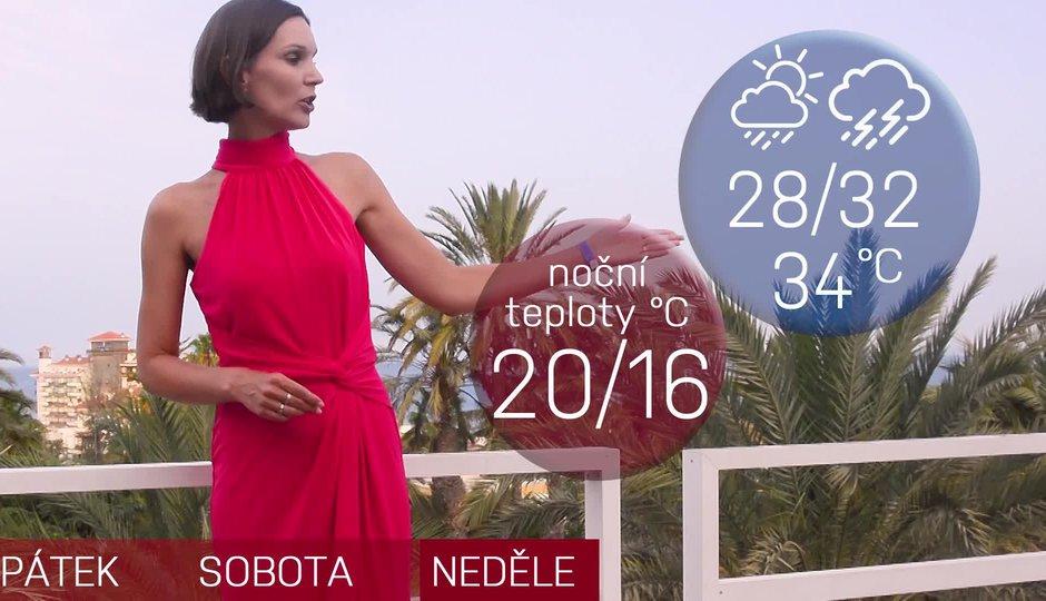 Poslední horký víkend? Předpověď slibuje tropické teploty