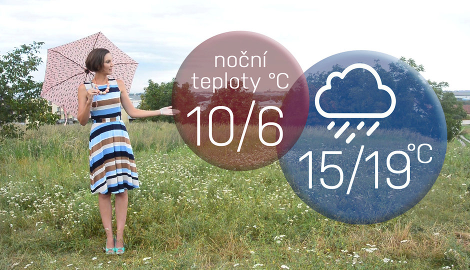 Předpověď na víkend: Konec prázdnin bude teplý, ale mokrý