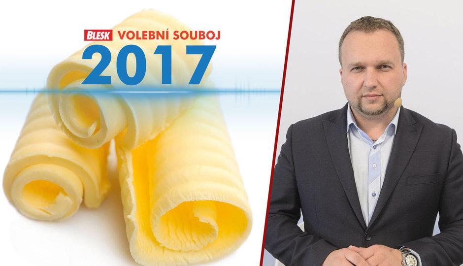 Bude máslo za 70 korun? Ministr zemědělství prý ceny neovlivní