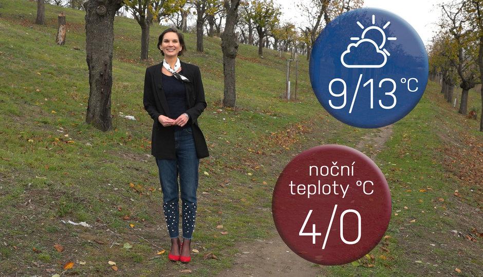 Předpověď na víkend: Skvostná sobota, neděle s deštníkem