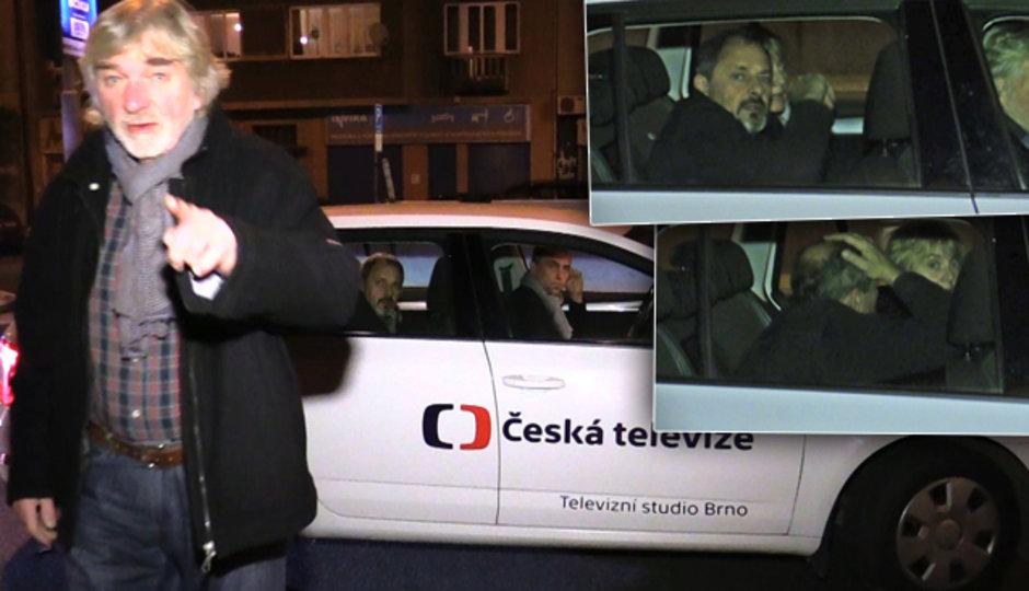 Kratinovi, Brouskovi a Žilkové se nelíbila policejní kontrola! Začala mela!