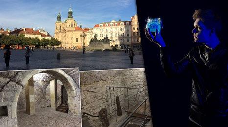 Pod Prahou se skrývají původní ulice i domy! A český Copperfield okouzlí metropoli