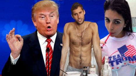 Donaldovy sexuální TRUMPoty a kuchař, co dostává ženy do kolen