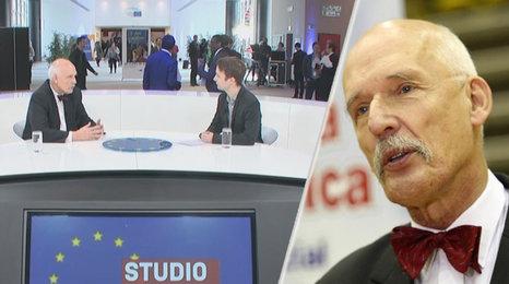 Polský radikál Korwin-Mikke pro Blesk: EU je lež, jsou tady idioti a já jsem Galileo, co bojuje za pravdu