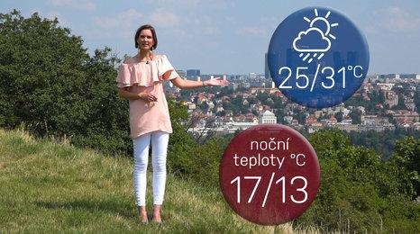 Předpověď na víkend: Silné bouřky ochladí třicítkami rozpálené Česko