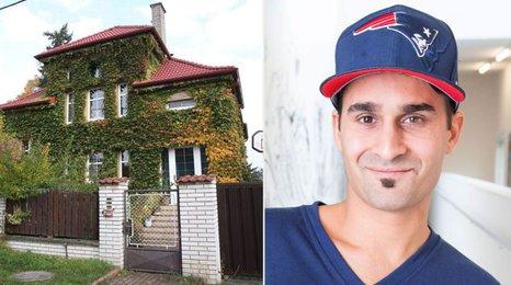 Jak bydlí Radek Banga alias Gipsy? Ukázal svou prvorepublikovou vilu!