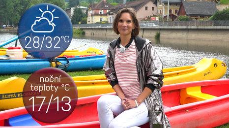 Počasí na víkend: Vyrazte k vodě, do Česka se vrátí tropy