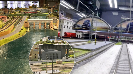 Praha a okolí pohledem modelu mašinky: Projeďte se na hlavák i kolem přehrady