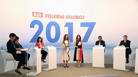 Blesk volební souboj 2017: Politici se neshodli na zvyšování minimální mzdy