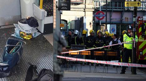 Exploze tašky v londýnském metru: Zranění mají popálené obličeje