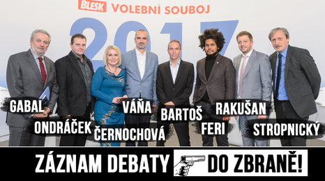 Politici v debatě Blesku: Česko by teror zvládlo lépe než Němci, útok uz nás nehrozí