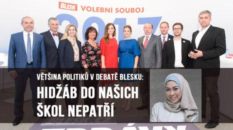 Patří muslimský šátek do českých škol? Politici byli většinou proti