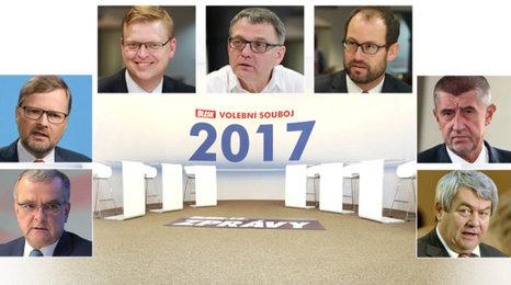 Souboj 7 hlavních lídrů, dva dny před volbami! Sledujte debatu Blesku 18. října od 14 hodin