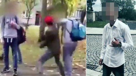 Šokující video: Školák (15) z Loun brutálně zbil dva chlapce