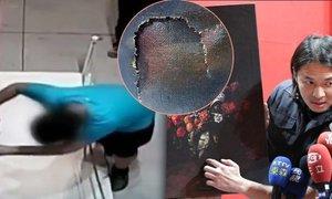 Šok na výstavě da Vinciho: Zakopl a zničil obraz za 30 milionů!