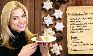 Vánoční pečení u sexbomby Perkausové: Nad úly prozradila, proč nevídá otce!