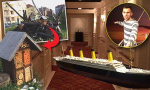 Našli jsme v Praze hmyzí hotel! A jak Češi lhali o plavbě na Titaniku