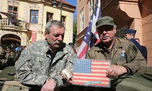 Pocta pro vojáky USA: Konvoj osvobození připomněl konec války