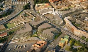 Takhle se změní okolí Masaryčky: Penta plánuje budovy od architektky Zahy Hadid