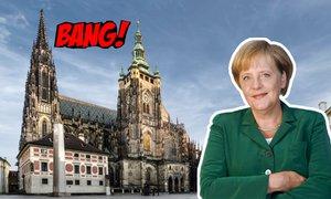 Bang!: Český fanoušek Merkelové! Chtěl jí pozvat na rande. Přijala?