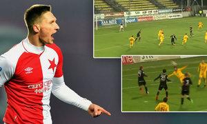 TOP 5 gólů 13. kola: Pilíkovo sólo, Škodova bomba a Néstorovy nůžky