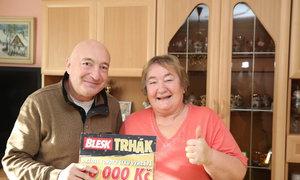 Dělnice Marie (60) vyhrála v Trháku 10 tisíc: Dám to na opravy v domě
