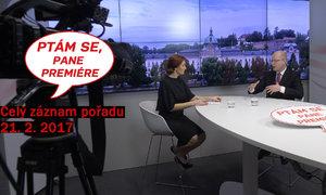 Sobotka živě v Blesku: O Babišových dluhopisech, tulení ke komunistům a vyhazovu Mládka
