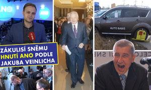 Babiš chce být poslední, Faltýnek uchránil rozkrok, ale kulhá a VIP pokuta