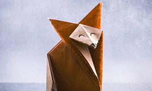 Origami liška: japonský symbol úspěchu