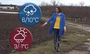 Předpověď na víkend: Zabalte si deštník, sluneční brýle i zimní bundy
