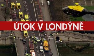 Ochromený Londýn na leteckých záběrech: Premiérku evakuovali do bezpečí