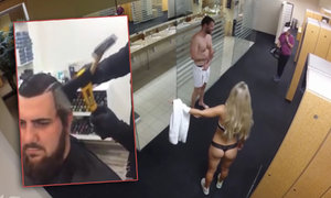 Když chlap vpadne do ženské šatny! A jak pracuje holič se sekyrou