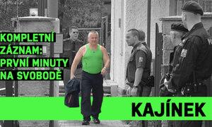 Jiří Kajínek na svobodě: První slova o vězení, svobodě, penězích a korunním svědkovi