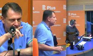 Paroubek utekl z živého přenosu: Kvůli otázkám na jeho (ne)návrat do ČSSD