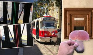 Nová tramvaj v Praze: Její dveře mění barvu! A tajemná schránka, která pozná vaše houby