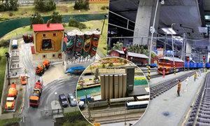 Kamera v čele modelu mašinky: Projeďte si Ústecko a střední Čechy