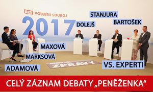 Volební souboj Blesku: O daních, důchodech a minimální mzdě