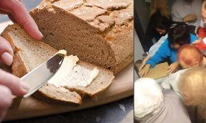 """Bitka v supermarketu: Češi se """"servali"""" o zlevněné máslo, podívejte se"""