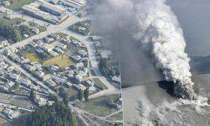 Výbuch sopky Šinmoedake v Japonsku: Podívejte se na letecké záběry