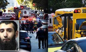 Útok v New Yorku: Uzbek najel do lidí, pak vytáhl zbraně