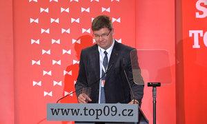 Nový šéf TOP 09 Jiří Pospíšil: Musíme zastavit lhaní a populisty