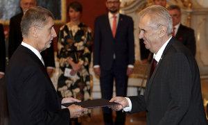 Andrej Babiš se stal nejstarším premiérem v historii ČR