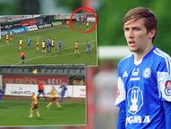 Neuznaný gól Olomouce proti Dukle