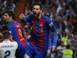 TOP góly 33. kola La Ligy: Messi rozhodl El Clásico, převedli se Rakitič i Griezmann