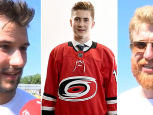 Češi z NHL o Nečasovi po draftu: Je to teprve začátek, ať se daří, hlásí Voráček a spol.