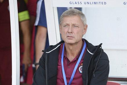 Trenér Sparty Zdeněk Ščasný